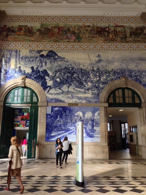 The Historic Sao Bento Train Station
