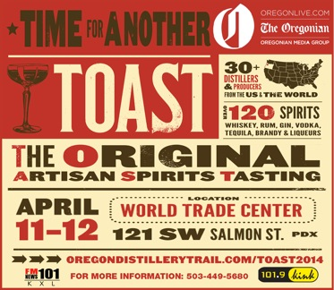 The largest artisan spirits revival of America- TOAST 2014