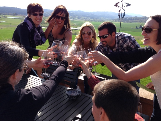 Visiting Wine Country with Friends and a great DD!
